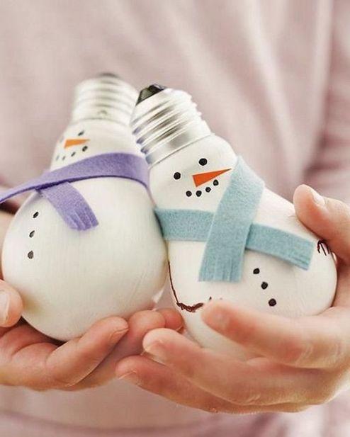 ampoules recyclées, , noël, lebonjo.com, DIY, faire sois-même, récup, fêtes